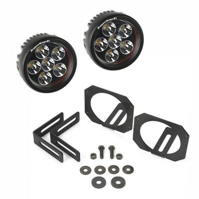 Rugged Ridge LED Light and Mounting Kit, Round - 11232.27