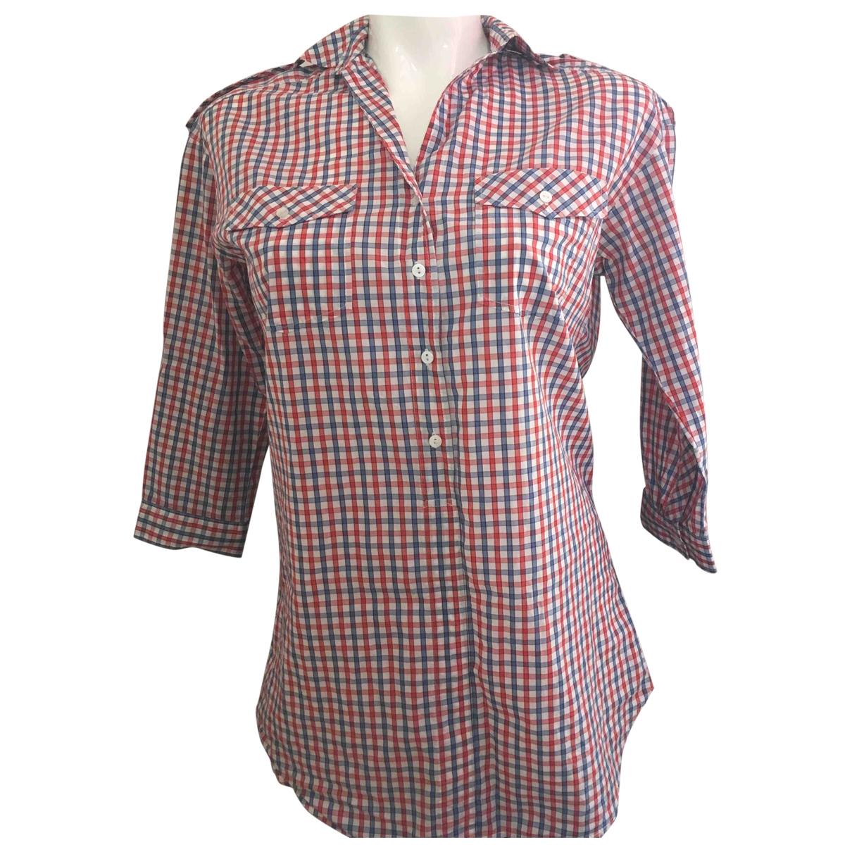Sandro - Top   pour femme en coton - multicolore