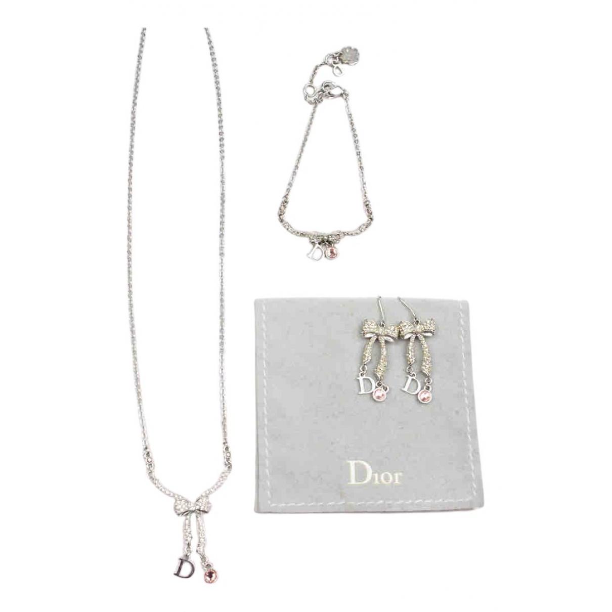 Dior - Parure   pour femme en plaque argent - argente