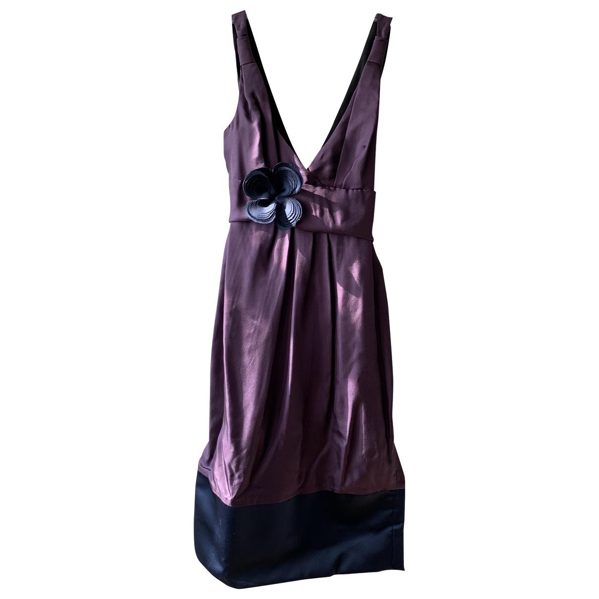 Vera Wang - Robe   pour femme en soie - violet