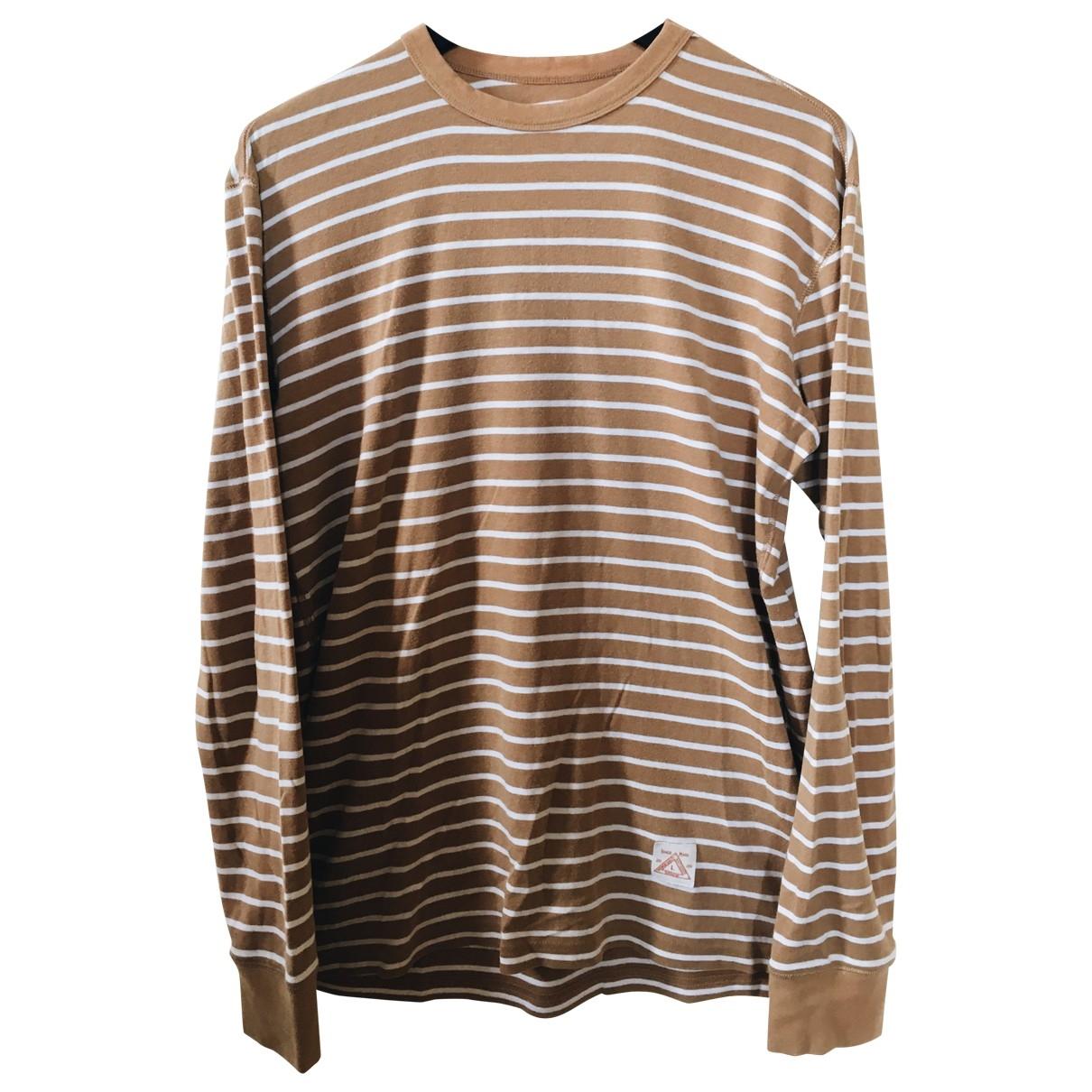 Supreme \N Camel Cotton T-shirts for Men L International