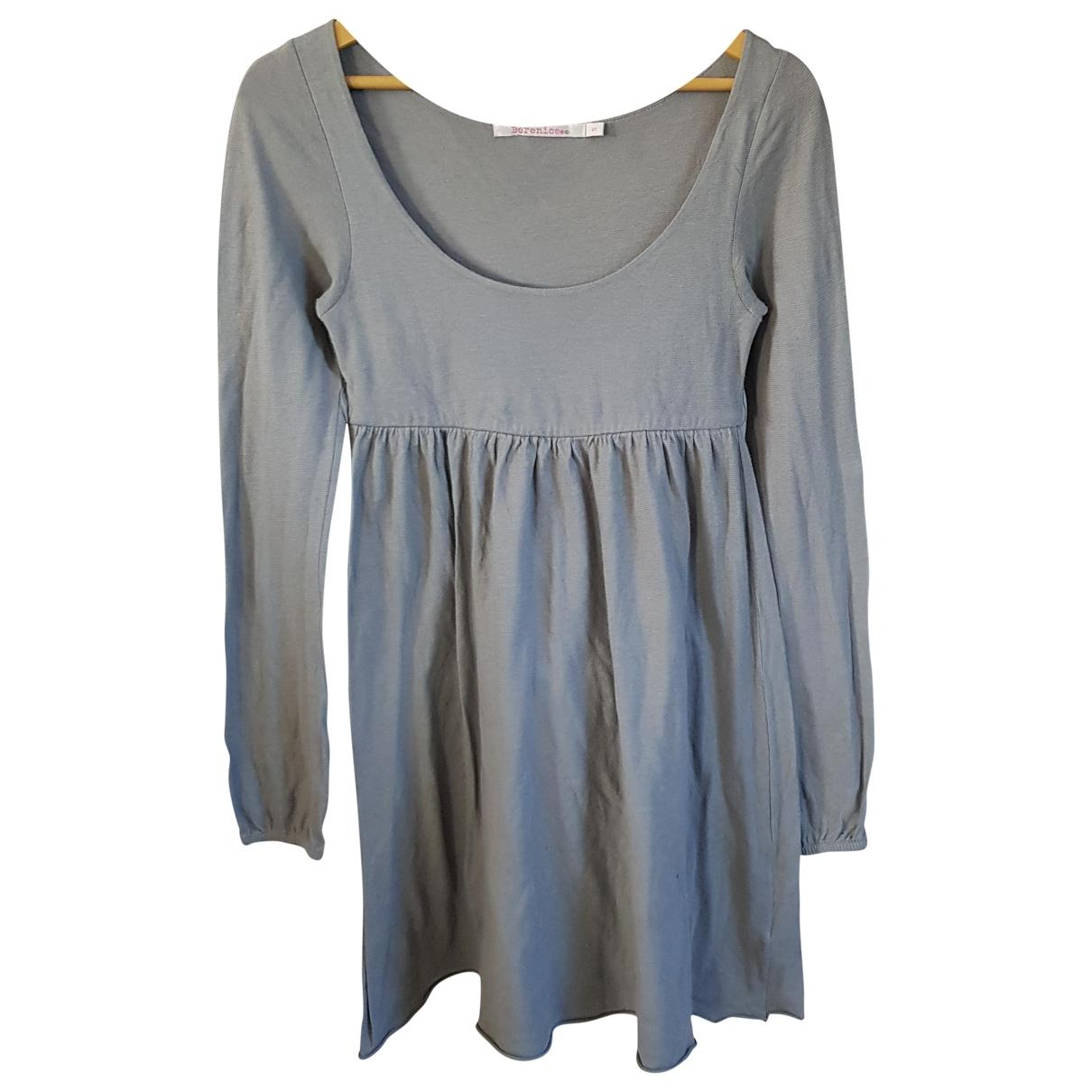 Berenice \N Kleid in  Grau Baumwolle