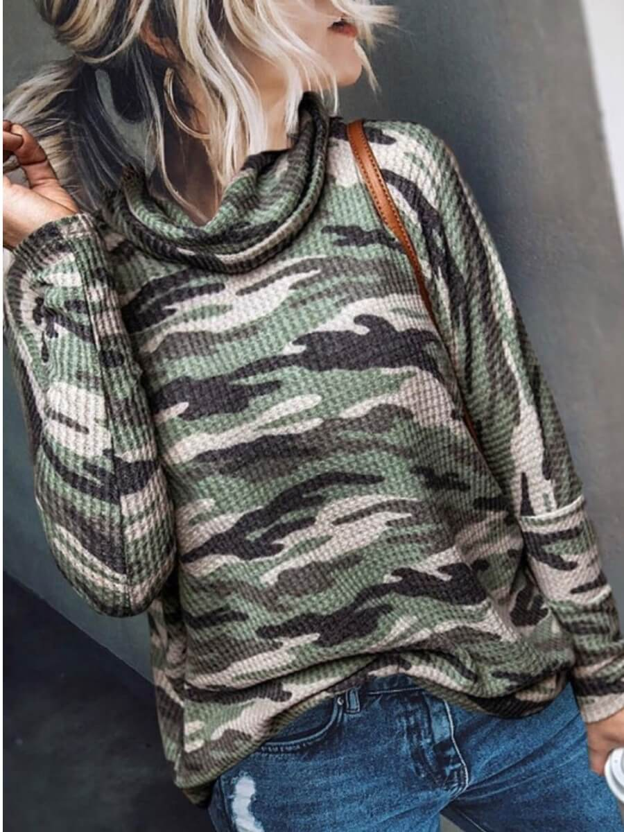 LW Lovely Print Camo T-shirt