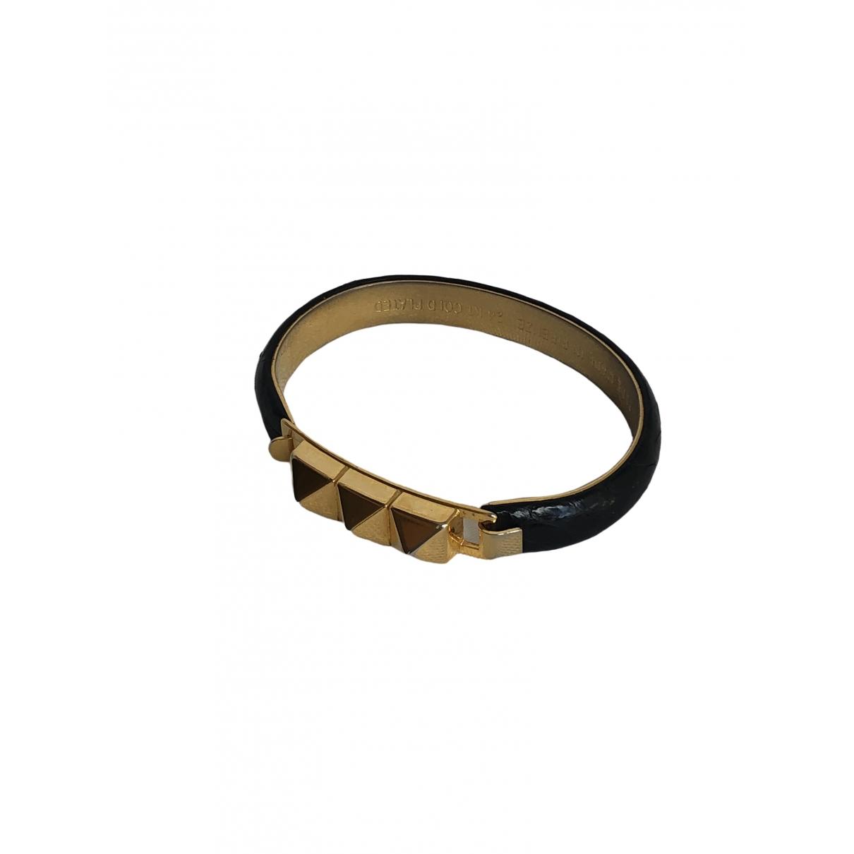 Vita Fede - Bracelet   pour femme en metal - noir