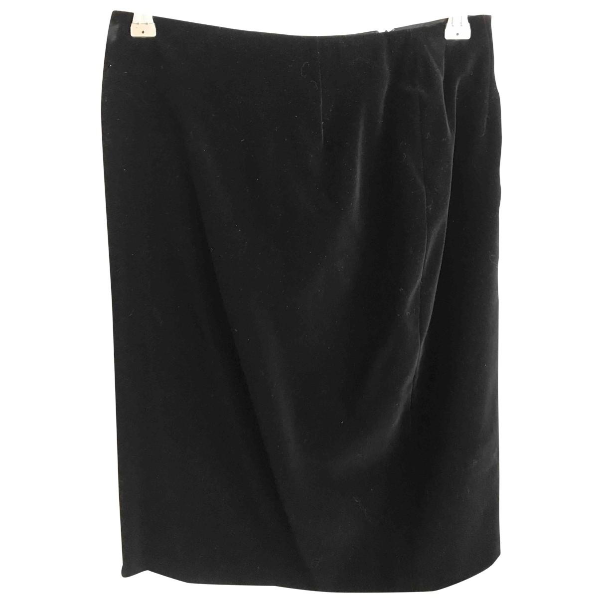 Escada - Jupe   pour femme en coton - noir
