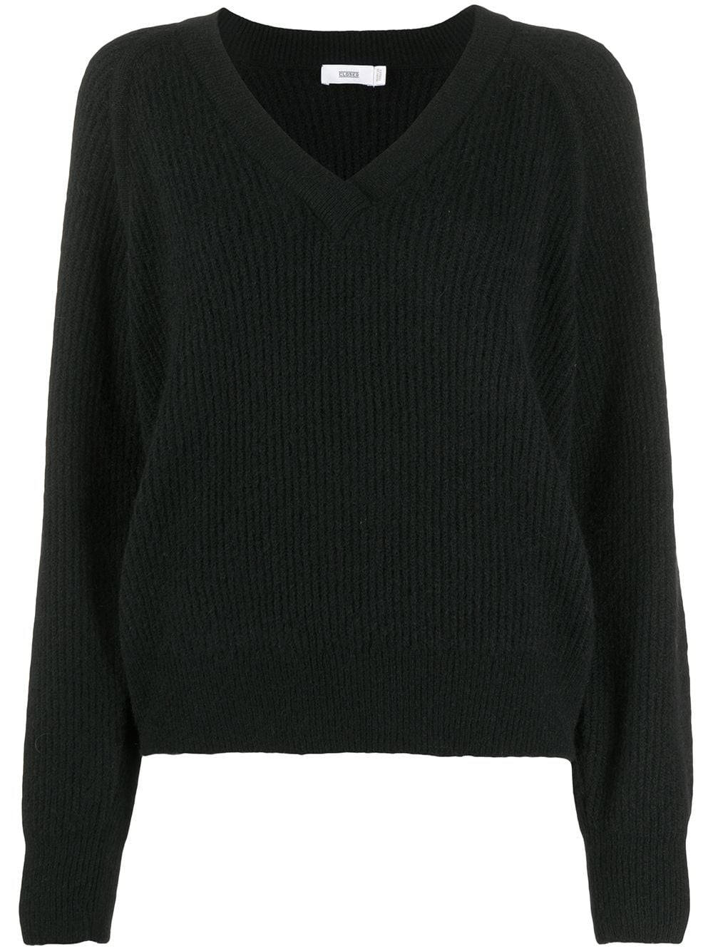Wool Blend V-necked Jumper