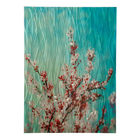 Stylecraft 30 W Turquoise Canvas Art, One Size , Multiple Colors