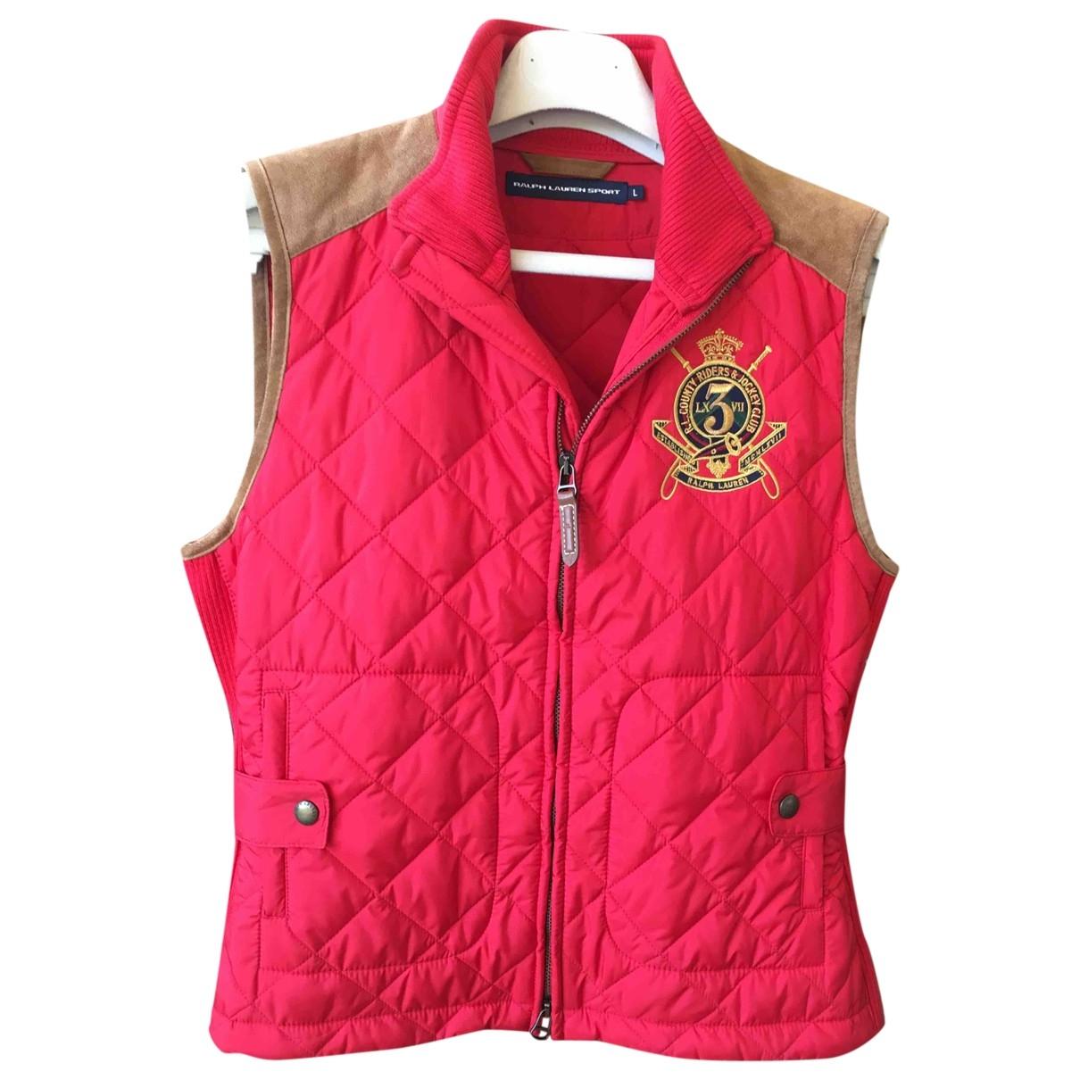 Ralph Lauren \N Pullover in  Rot Polyester