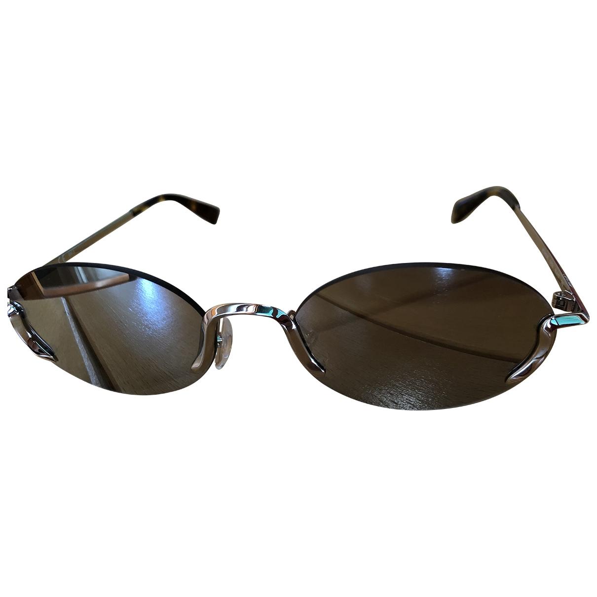 Moschino \N Silver Metal Sunglasses for Women \N