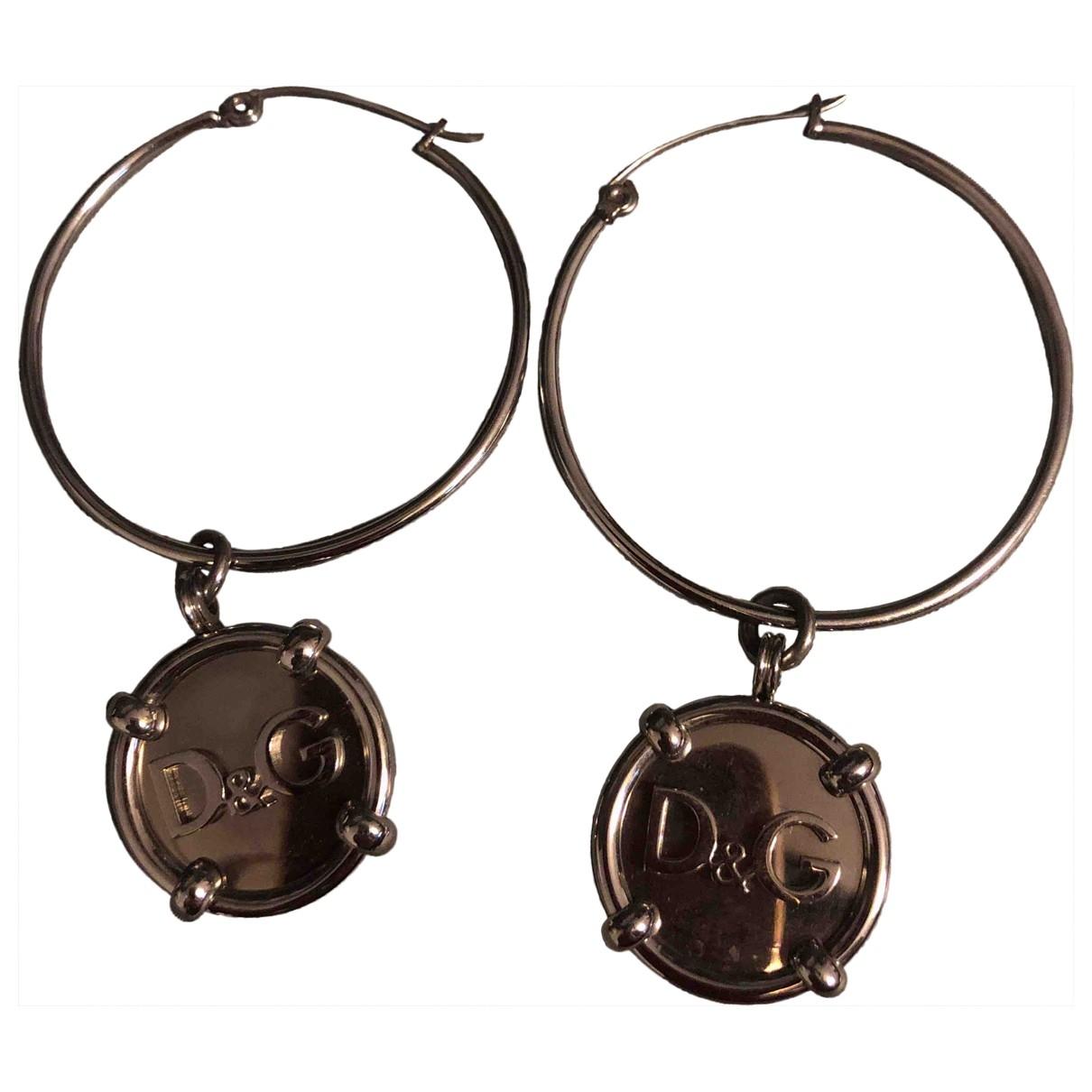 Dolce & Gabbana \N Silver Steel Earrings for Women \N
