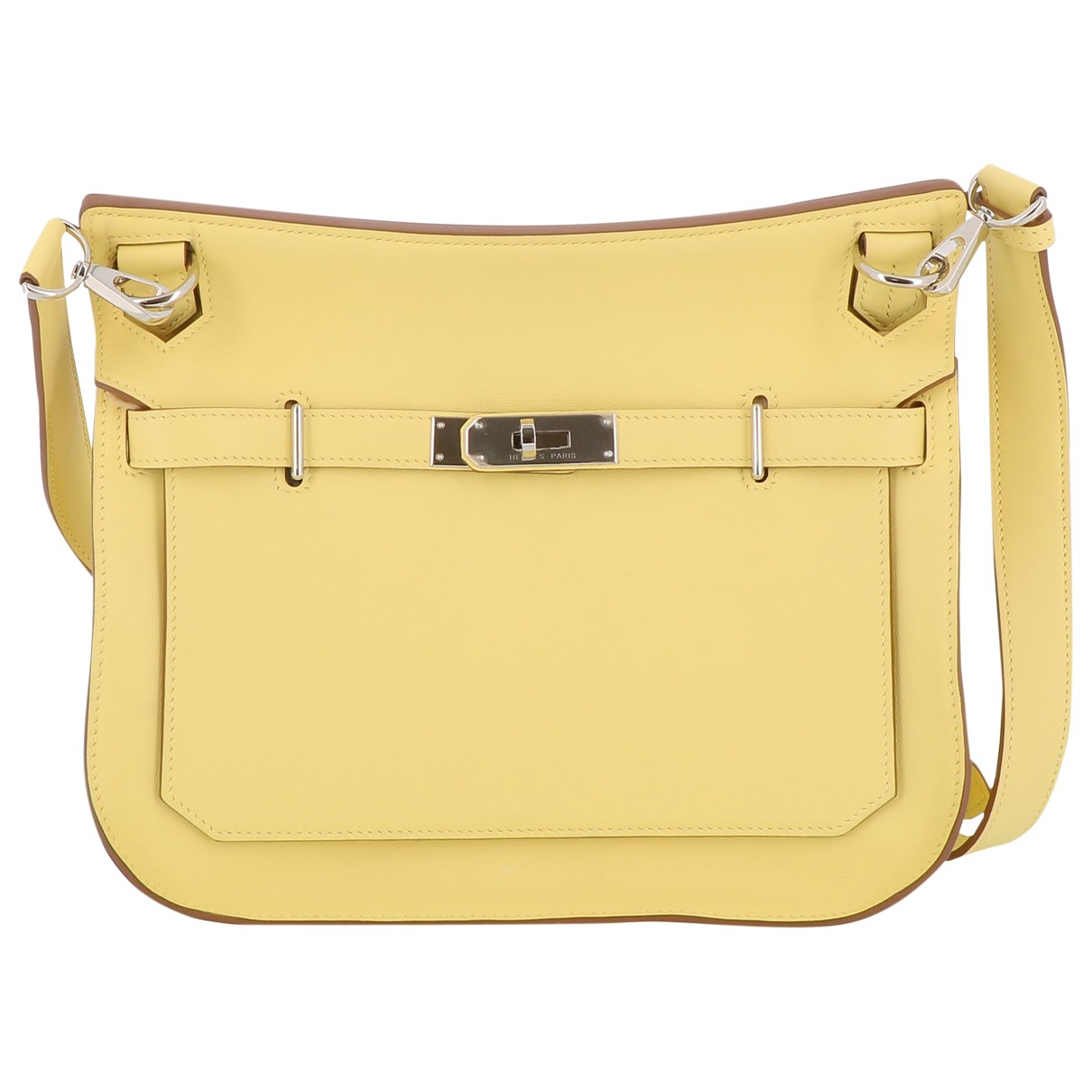 Hermès Jypsiere Beige Leather handbag for Women \N