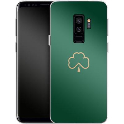Samsung Galaxy S9 Plus Silikon Handyhuelle - Shamrock von caseable Designs