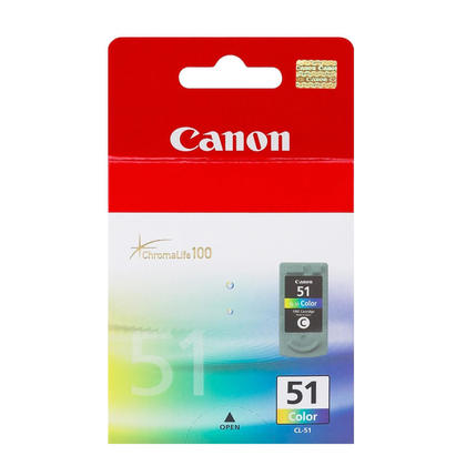Canon CL51 Original Color Ink Cartridge High Yield