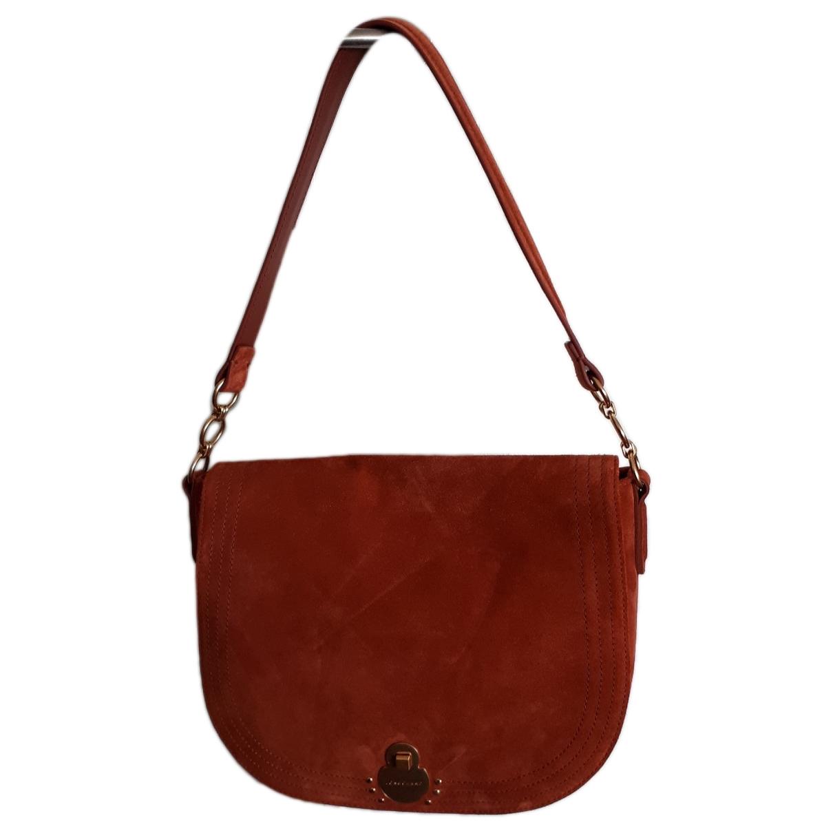 Longchamp \N Brown Suede handbag for Women \N