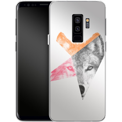 Samsung Galaxy S9 Plus Silikon Handyhuelle - Wild von Eric Fan