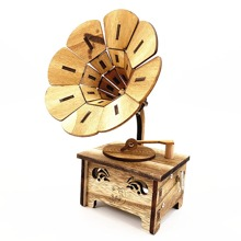 1pc Phonograph Shaped Dekoratives Objekt