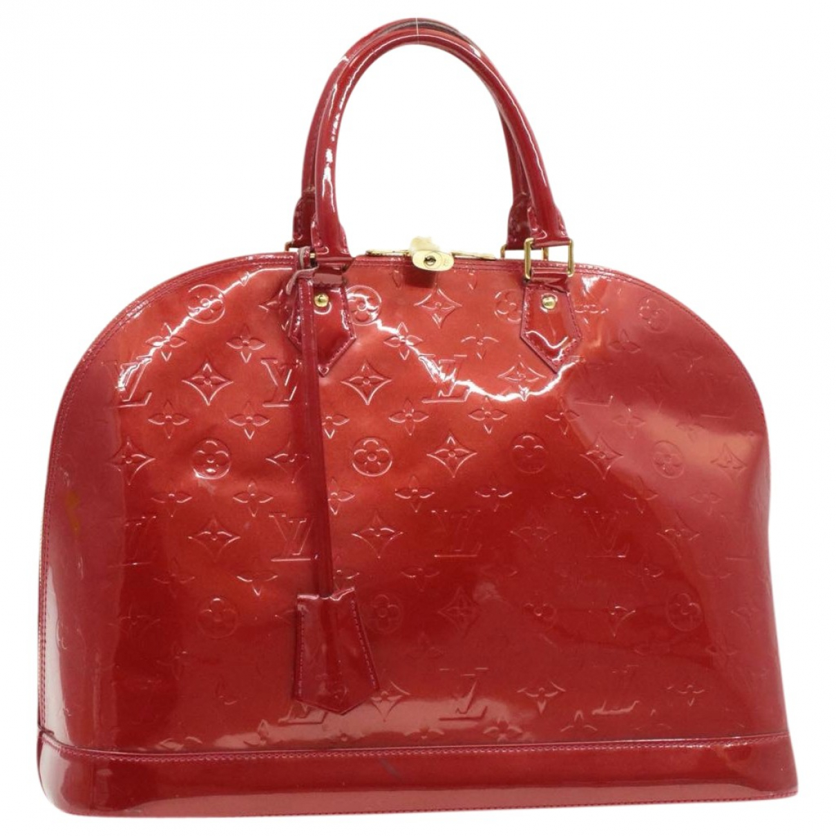 Louis Vuitton Alma Red Patent leather handbag for Women \N