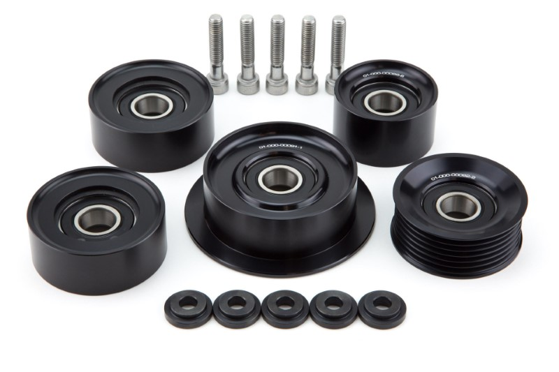 Weistec 01-000-00093-3 Billet Idler Pulleys Mercedes-Benz W164 ML63 AMG 07-11