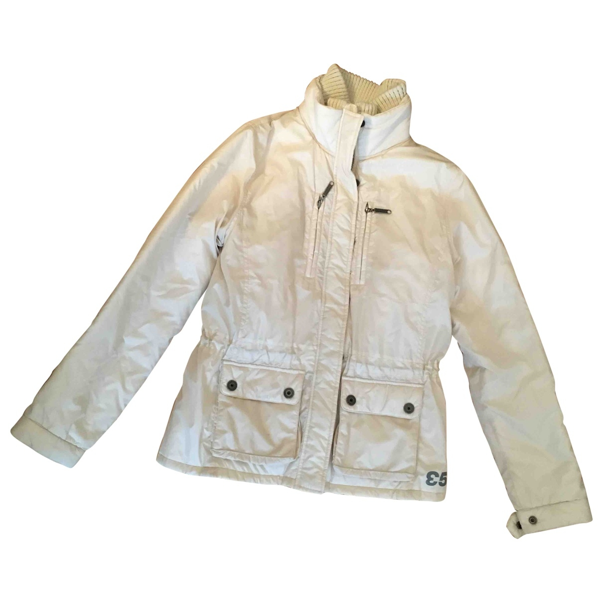 Aspesi \N Trench in  Weiss Polyester