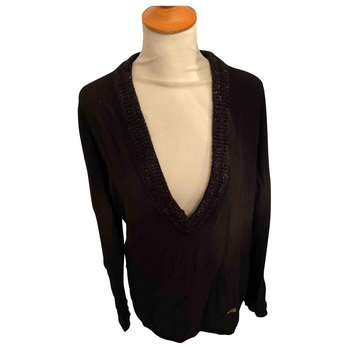 Bella Freud - Pull   pour femme en laine - noir