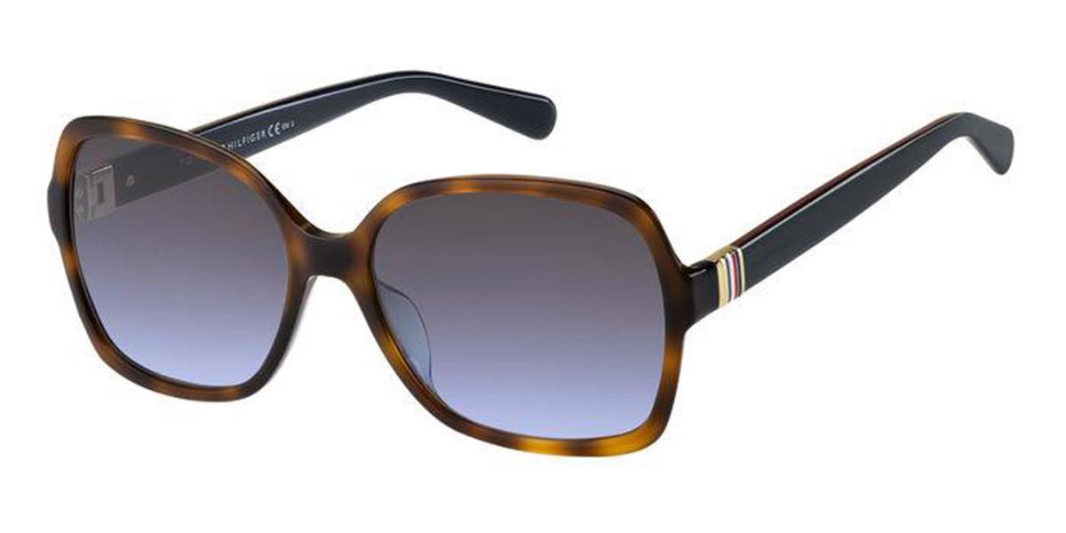 Tommy Hilfiger TH 1765/S 05L/GB Women's Sunglasses Tortoise Size 58