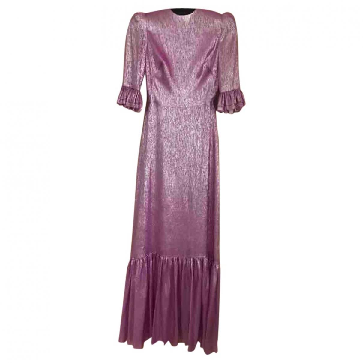 The Vampires Wife \N Kleid in  Rosa Seide