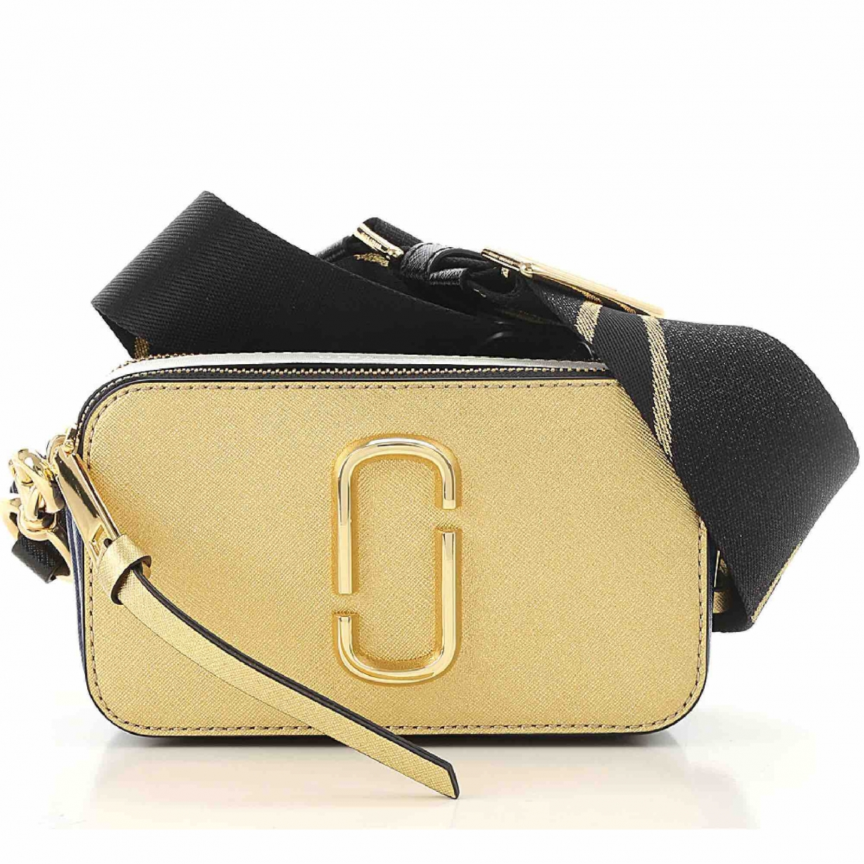 Marc Jacobs Snapshot Handtasche in  Gold Leder
