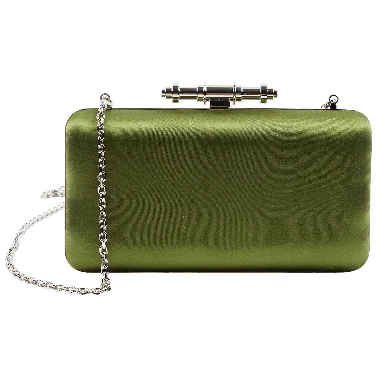 Givenchy \N Handtasche in  Khaki Leinen
