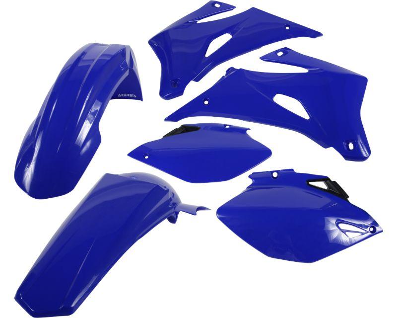 Acerbis 2071110003 Plastic Kit Blue White Yamaha YZ250F 06-08