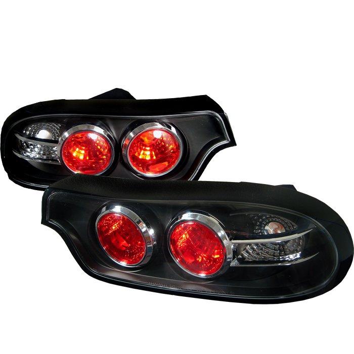 Spyder Altezza Black Tail Lights Mazda Rx7 93-01