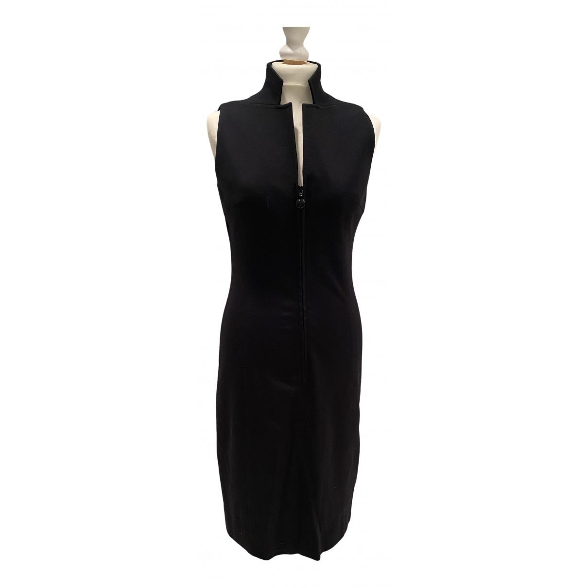 Akris Punto \N Kleid in  Schwarz Viskose