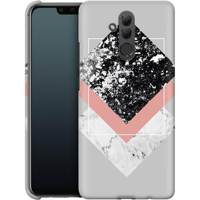 Huawei Mate 20 Lite Smartphone Huelle - Geometric Textures 1 von Mareike Bohmer