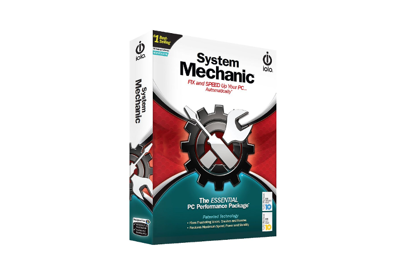 iolo System Mechanic Key (1 Year / 3 PC)