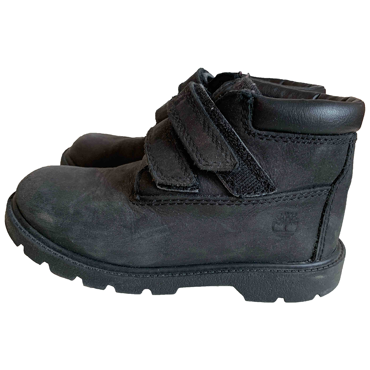 Timberland \N Black Leather Boots for Kids 27 EU