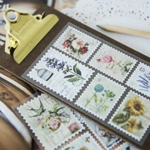 Stamp Sticker 3sheets