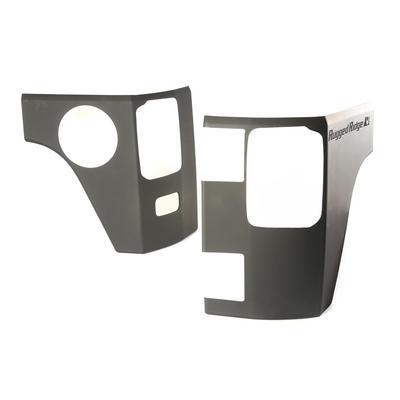 Rugged Ridge Rear Corner Body Armor Kit (Black Plastic) - 11651.09