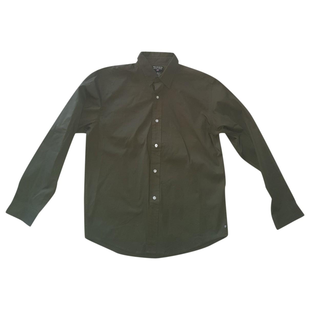 Polo Ralph Lauren - Chemises   pour homme en coton - vert