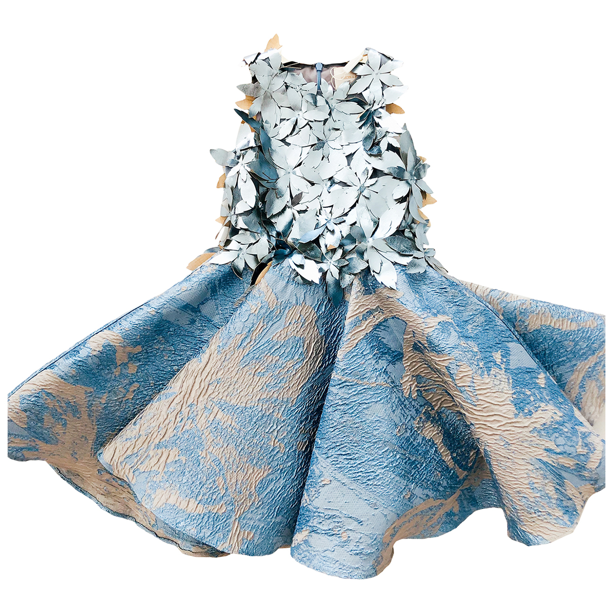 Mischka Aoki - Robe    pour enfant - bleu