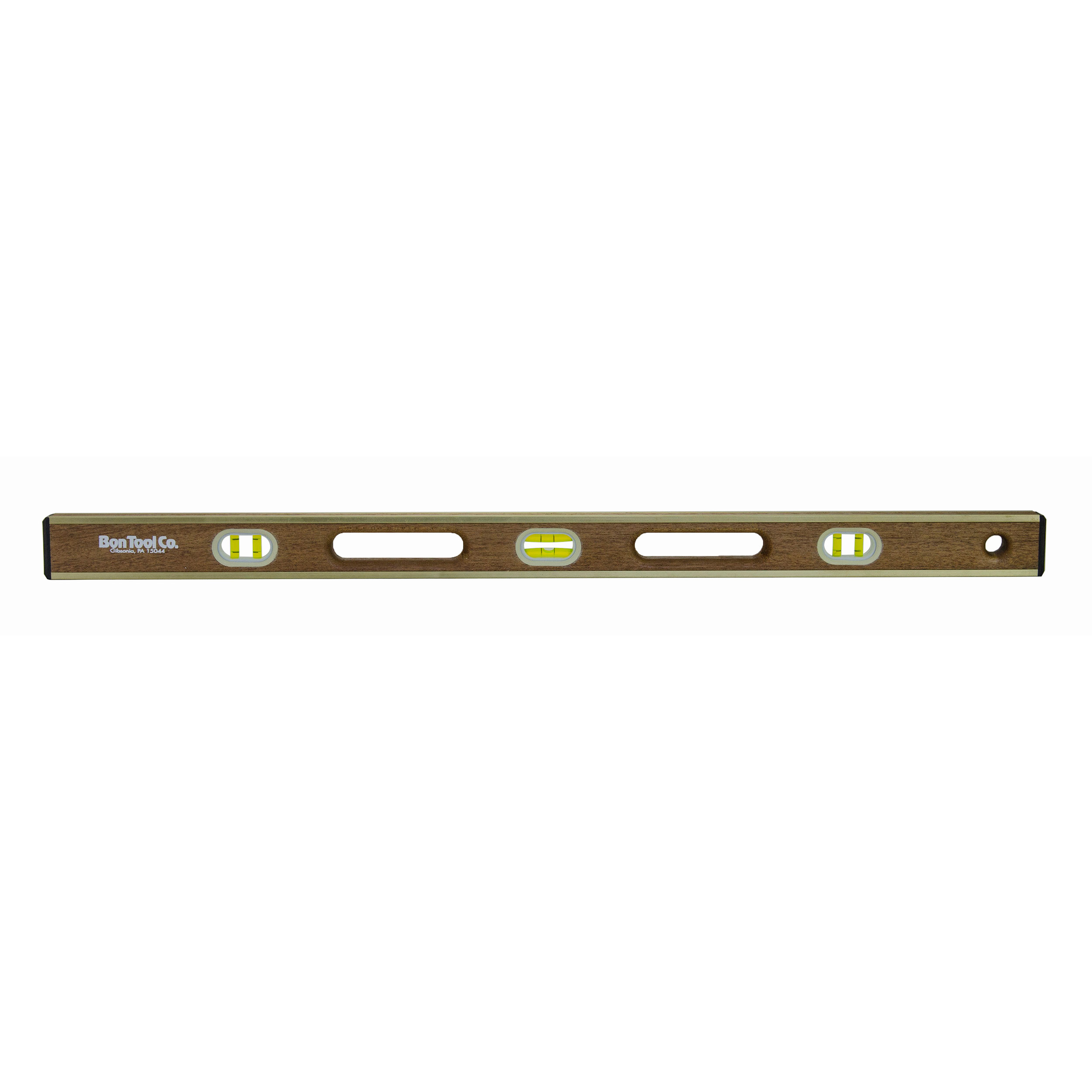 Brass Bound Level, 18 Inch