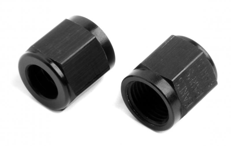 Earl's Performance AT581806ERL BLACK ANO -6 TUBE NUT
