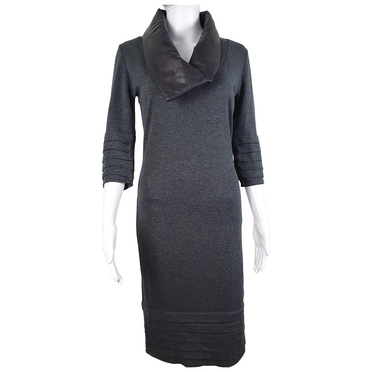 Blumarine \N Kleid in  Grau Viskose