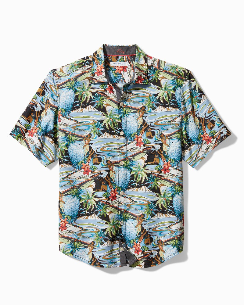 Big & Tall Coconut Point Tropical Surf Camp Shirt