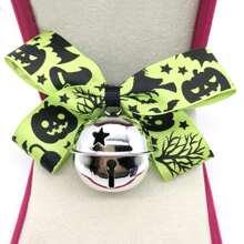 1 Stueck Halloween Hundehalsband mit Klingel