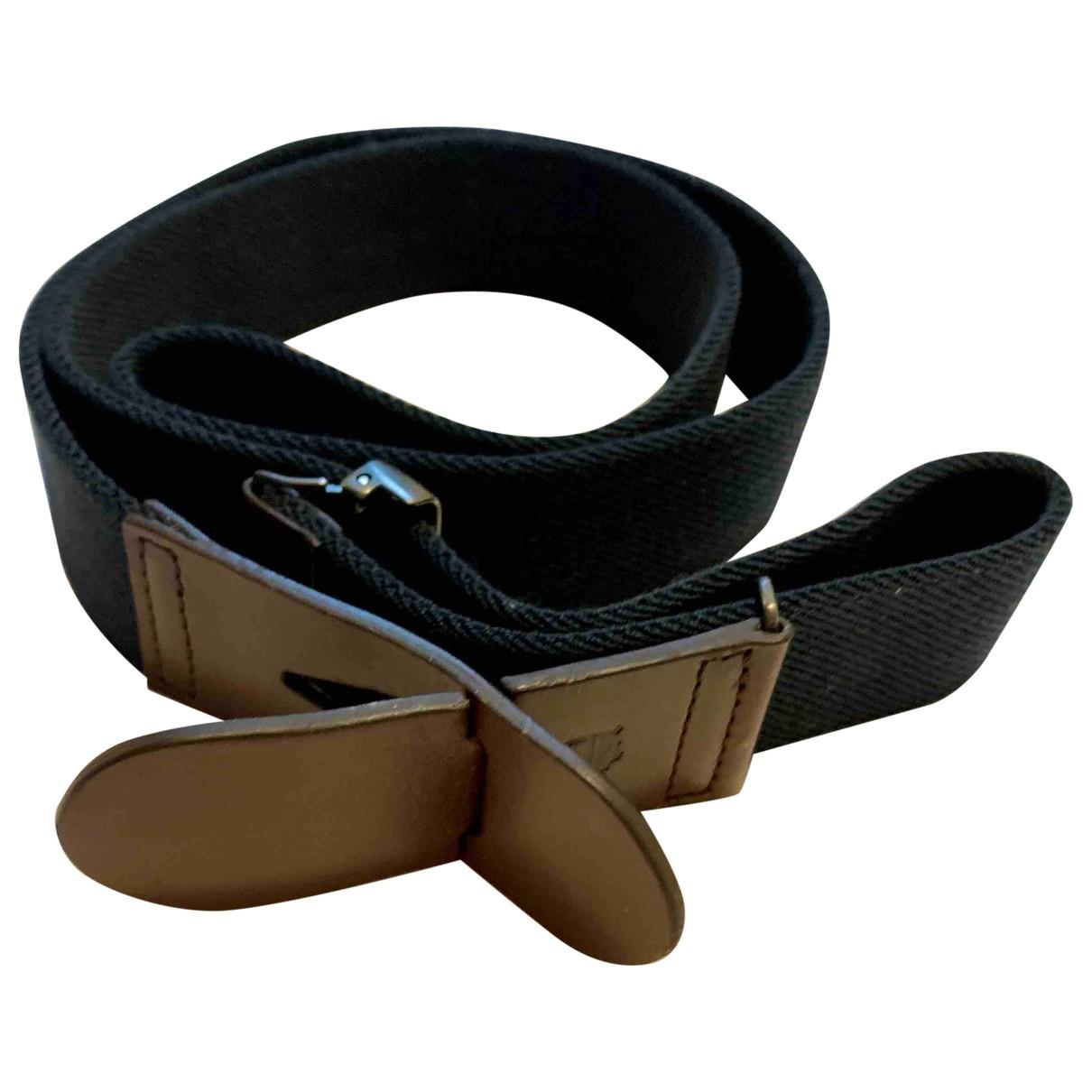 Tod's \N Navy Cloth belt for Men 100 cm