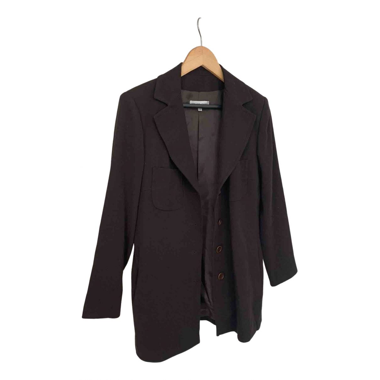 Gerard Darel N Brown Wool jacket for Women 42 FR