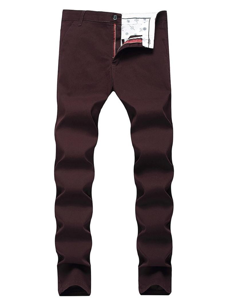 Ericdress Plain Four Seasons Casual Pants