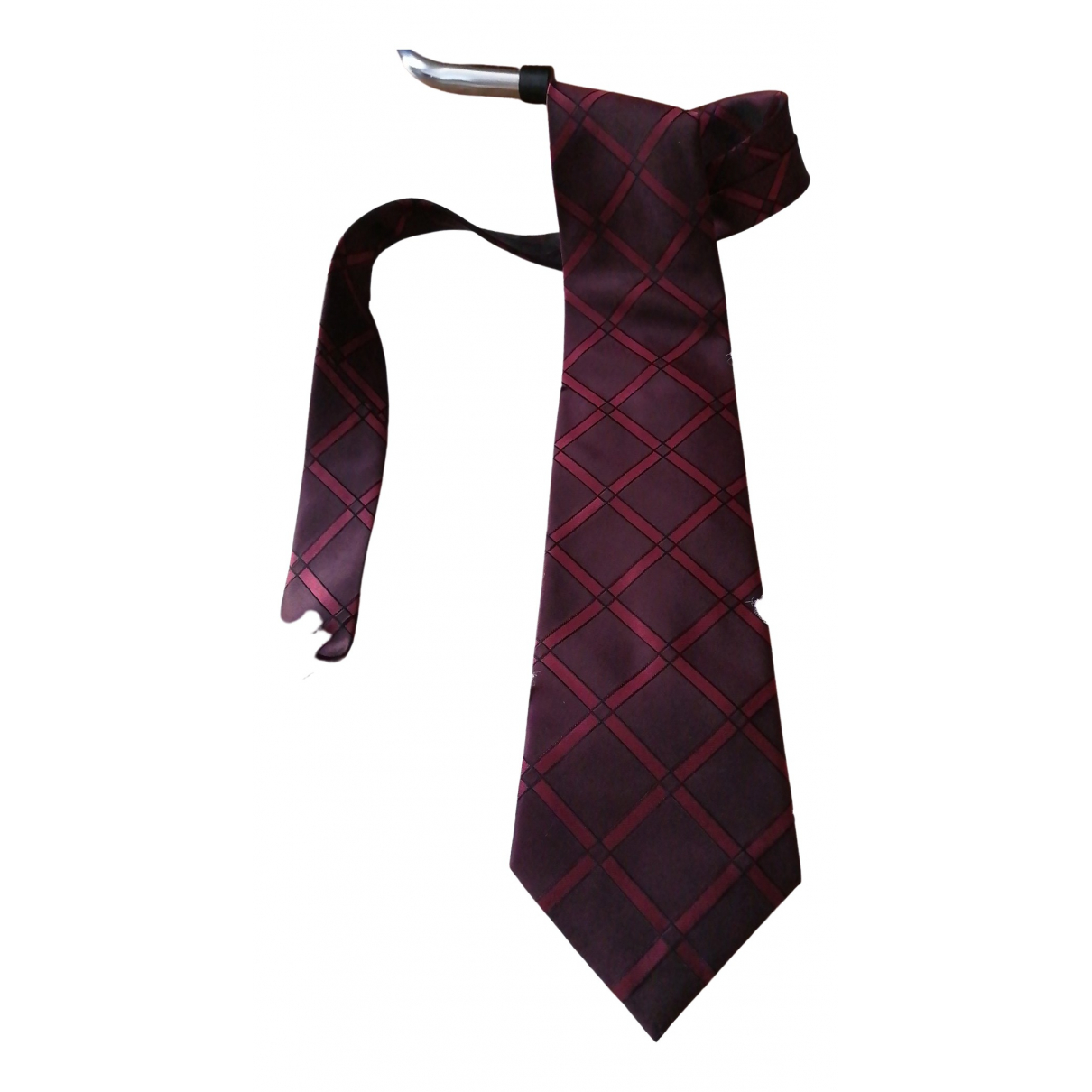 Pierre Cardin \N Red Silk Ties for Men \N