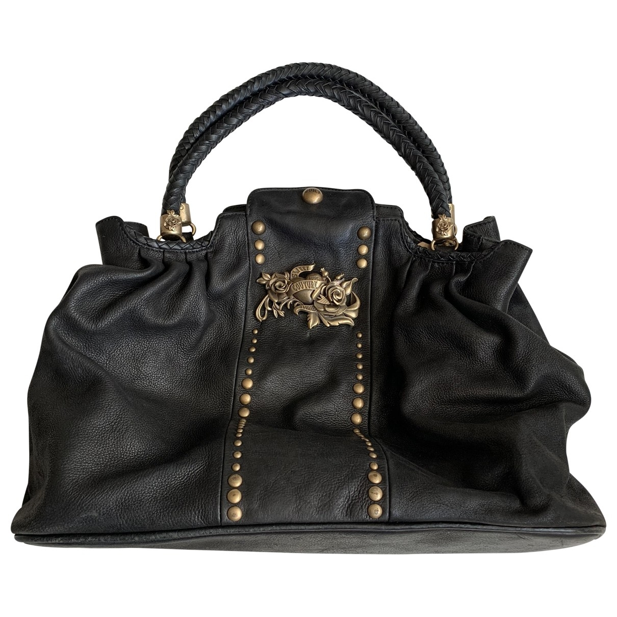 Juicy Couture \N Black Leather handbag for Women \N