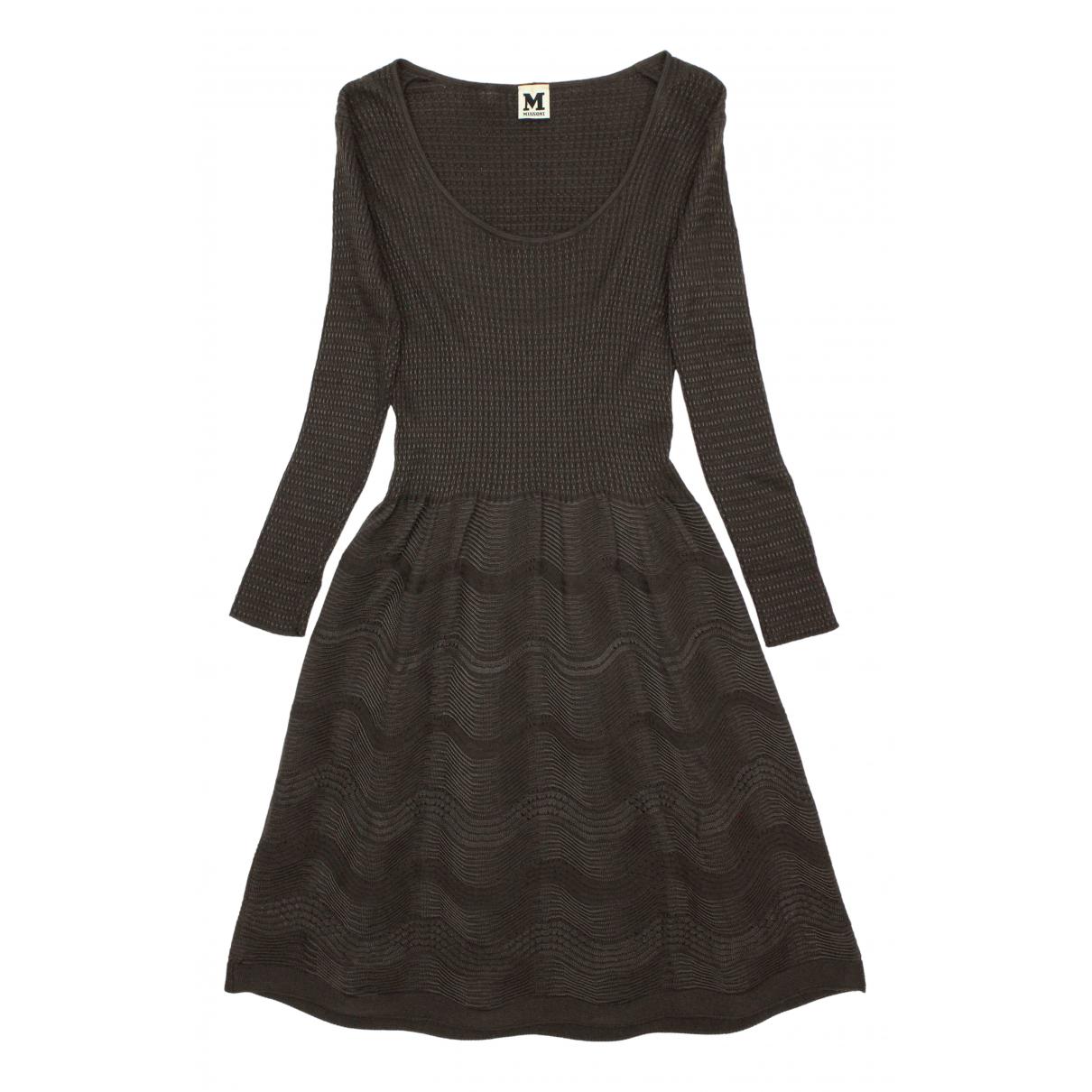 M Missoni \N Kleid in  Grau Wolle