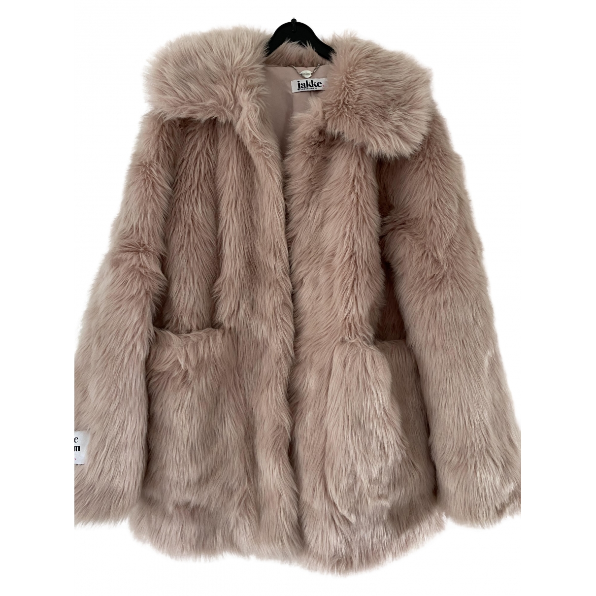 Jakke \N Pink Faux fur coat for Women 10 UK